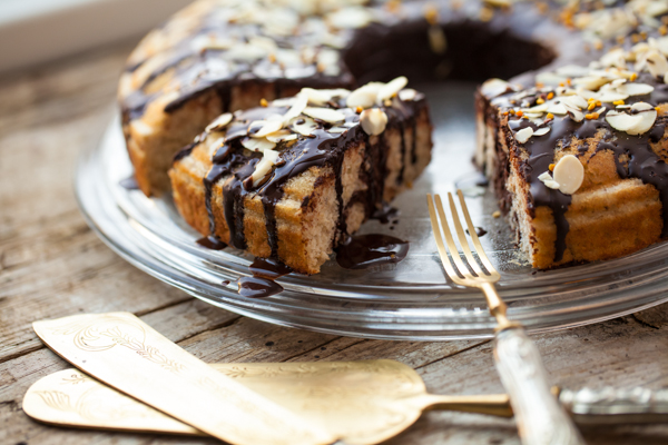 Healthy paleo cake